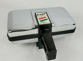 Villaware PREGO PIZZELLE BAKER Maker 3600-NS Silver Chrome Tested EXCELL... - $86.24
