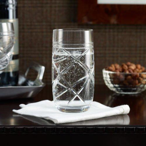 Ralph Lauren Brogan Crystal Highball Glass