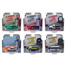 Running on Empty Release 1, Set of 6 pieces 1/43 Diecast Model Cars by G... - $90.90