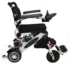 Geo Cruiser Ex Lightweight Foldable Power Chair (Silver) With Free Accessories - $2,595.00