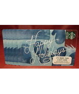 Lot of 5 Starbucks 2017 Happy Holidays Gift Cards New with Tags - $20.50