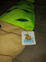 "Goffa Ice Cream Swirl Cone Plush 16"" NWT Green Stuffed Animal Toy Ages 3+... - $16.82"