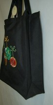 Transpac Imports Inc W1186 Tii Collection Fiber Optic Holiday Large Black Tote image 2