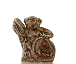 Wade Whimsies Porcelain Miniature Tree Monkey