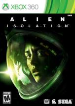 Sega Alien: Isolation - Xbox 360 Standard Edition Brand New Games Sony F... - $29.69