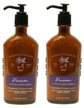 X 2~ BATH & BODY WORKS AROMATHERAPY PASSION MOISTURIZING BODY LOTION 6.5... - $25.54