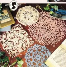 Big Book of 25 Little Doilies Leisure Arts Crochet Patterns - $16.99