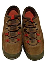 Cole Haan Waterproof Tennis Shoe Brown Mules Slip On Open Back Womens Si... - $45.27