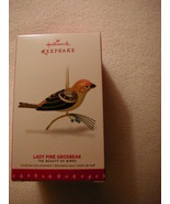 Hallmark 2016 Beauty of Birds - Lady Pine Grosbeak Ornament! FREE PRIORI... - $35.63