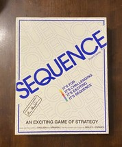 Sequence Strategy Party Game For 2-12 players, ages 7 and up - Free Shipping! - $34.16