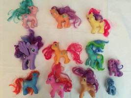 My Little Pony Lot Of 11 Older Ponies 2000's Hasbro G3 Some Rare - $29.69