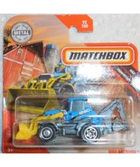 """Matchbox 2020 """"Backhoe"""" MBX Countryside #92/100 GKL81 Mint On Sealed Card - $3.00"""
