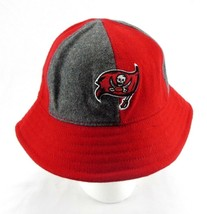 Reebok Wool Red Bucket Hat Unisex - Pirate Flag - 70% Wool, 30% Acrylic - S/M - $26.19