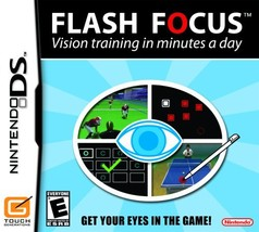 Flash Focus: Vision Training in Minutes a Day (Nintendo DS, 2007) - $4.04