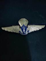 VAJIRAVUDH National Scout Organization Thailand NSOT METAL WING BADGE RA... - $15.89