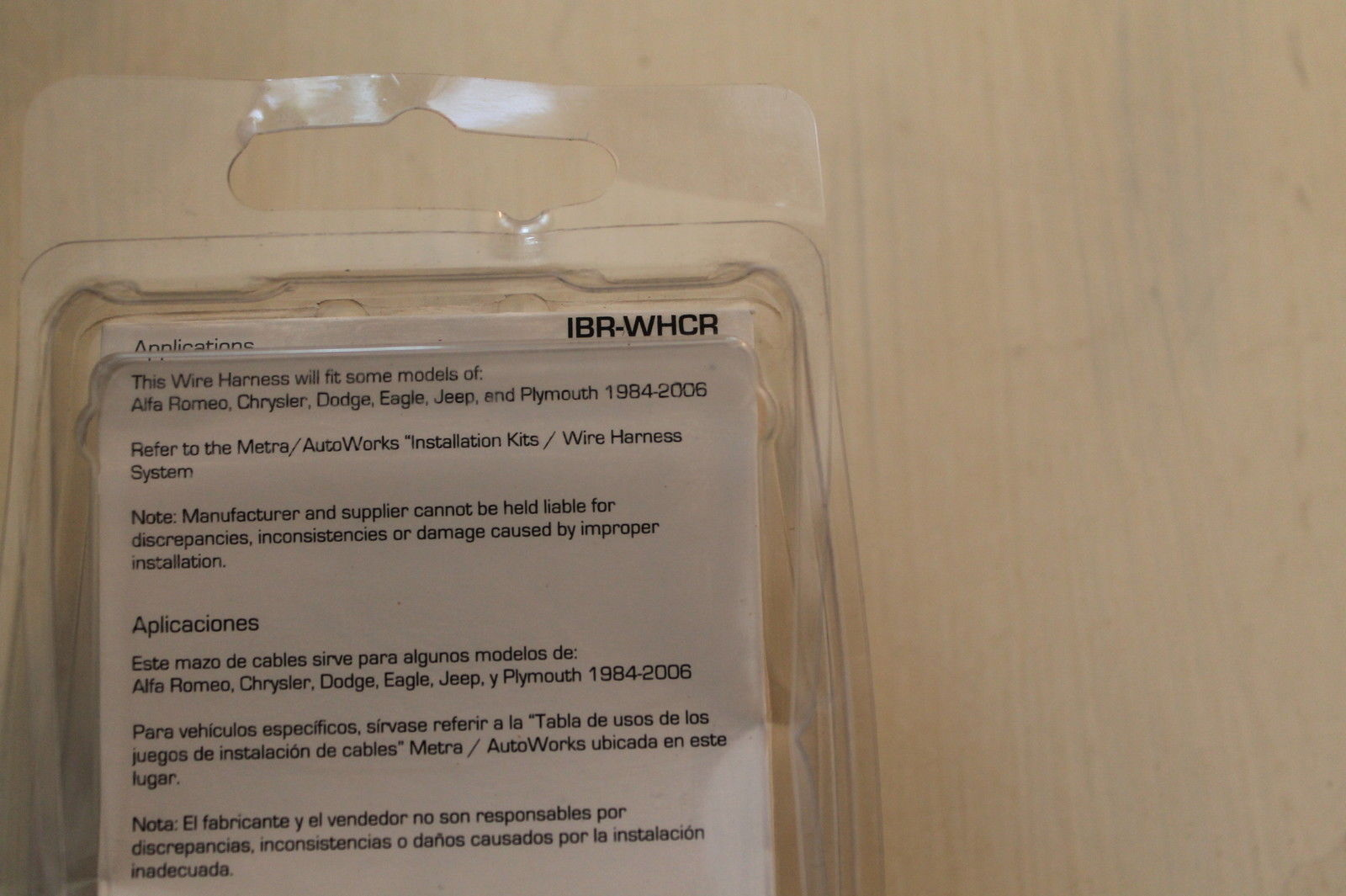 Metra Ibr Whcr Car Stereo Wire Harness For And 50 Similar Items