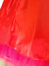 RED TULLE Party SKIRT A Line Red Bridesmaid Skirt Ballerina Skirt Plus Size XXXL image 2