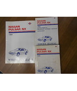 1989 Nissan Pulsar NX Service Repair Shop Manual SET Factory Book OEM 89 - $98.99