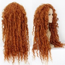 Pixar Animated Brave Merida Wig Costume Wigs For Halloween Party Event+Wig Cap - $27.66