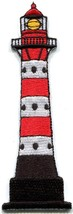 Lighthouse tower beacon retro embroidered applique iron-on patch new S-1355 - $2.95