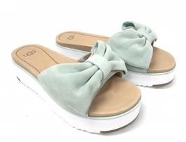 UGG Australia Women's Joan 1019868 Aqua Blue Bow Tie Sandals Shoes Platform - $89.99