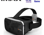 VR-Park V3 3D Virtual Reality Glasses VR BOX Helmet Google Cardboard For 4.0 To