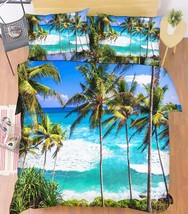 3D Sea Trees 007 Bed Pillowcases Quilt Duvet Cover Set Single Queen King Size AU - $90.04+