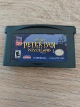 Nintendo Game Boy Advance GBA Disney's Peter Pan: Return To Neverland image 2