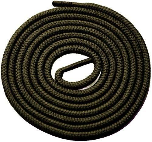 "Primary image for 54"" OLIVE 3/16 Round Thick Shoelace For All Kinds Of Shoes"