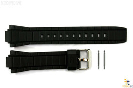 CASIO EFR-519 Edifice Original 20mm Black Rubber Watch Band Strap w/ 2 Pins - $38.68