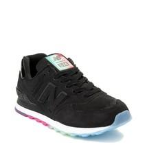 Neu Damen New Balance 574 Außen Leuchtende Athletic Schuhe Stein Schwarz Bunt - $112.99