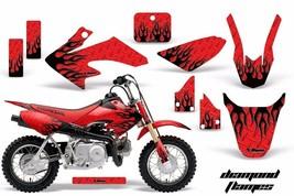 Dirt Bike Graphics Kit Decal Wrap For Honda CRF50 CRF 50 2004-2013 DMNDF... - $93.90
