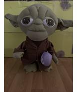 "Star Wars Yoda Easter Greeter Plush Stuffed Animal Doll 20"" Disney 2020 - $29.69"