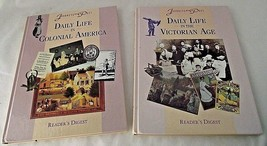 Daily LIfe Colonial America Victorian Age Journey into Past History Cult... - $16.78