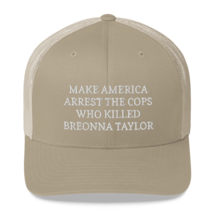 Make America Arrest The Cops Hat / Make America Arrest The Cops / Trucker Cap image 10