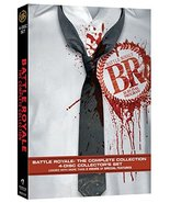 Battle Royale 1 & 2 Requiem, (DVD, 4 Disc, 2012) - $9.95