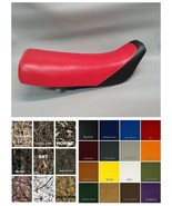 HONDA XR100R Seat Cover 1985-1999 XR100  2-tone red & black (front) or 2... - $27.95