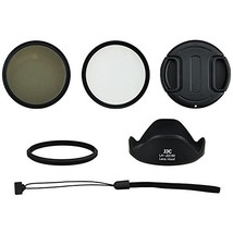 Kiwifotos SX-60K 6-In-1 Lens Kit for Canon Powershot SX60 HS Camera  - $50.00
