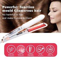SWAN STAR Professional Infrared Steam Hair Straightener, Flat Iron Hair Straight image 4