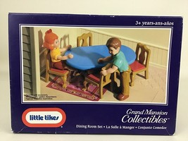 Vintage Little Tikes Grand Mansion Collectibles Dining Room Set 5526 Sealed New - $35.59