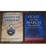 2 CIVIL WAR  AMERICAN GENERAL SHERMAN &FIGHT ALL DAY, MARCH ALL NIGHT - $10.00