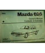 1985 MAZDA 626 OWNERS OPERATORS MANUAL - £17.96 GBP