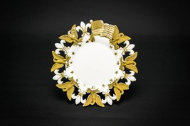 Serving Gold PLATE Meat Federal Early 1900s 7''... - $60.78