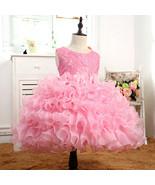 Princess Flowers Ball Gown Weddings Dress Party Princess Dress Kids Clot... - £45.81 GBP