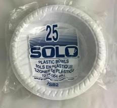 Lot of 15 Packs (25 per Pack) Plastic Bowls (375 Plastic Bowls Total) - $37.99