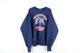 Vintage 80s Majestic Mens Medium Shippensburg University Band Sweatshirt... - $39.55