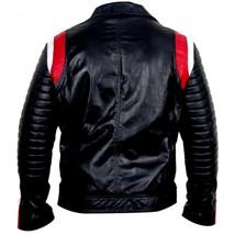 Ryan Gosling Blue Valentine Dean Bomber Motorcycle Leather Jacket Valentine Gift image 3