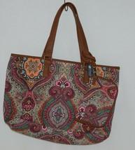 Howards Product Number 68985 Large Shoulder Bag Multi Color Paisley image 1