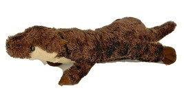 """Wildlife Artists Plush Small Brown River Otter 13"""" - $9.63"""