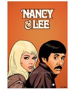Nancy Sinatra & Lee Hazlewood - Art Print/Poster - $19.99+